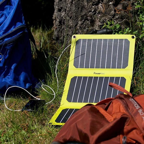 Chargeur solaire USB PT Flap 16W