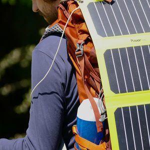 Panneau solaire USB PT Flap 16W Powertec