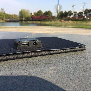 Panneau solaire USB smartphone et iPhone Powertec