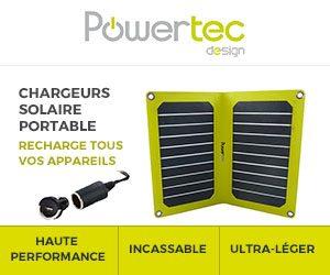 Panneau solaire portable..pas tous identiques
