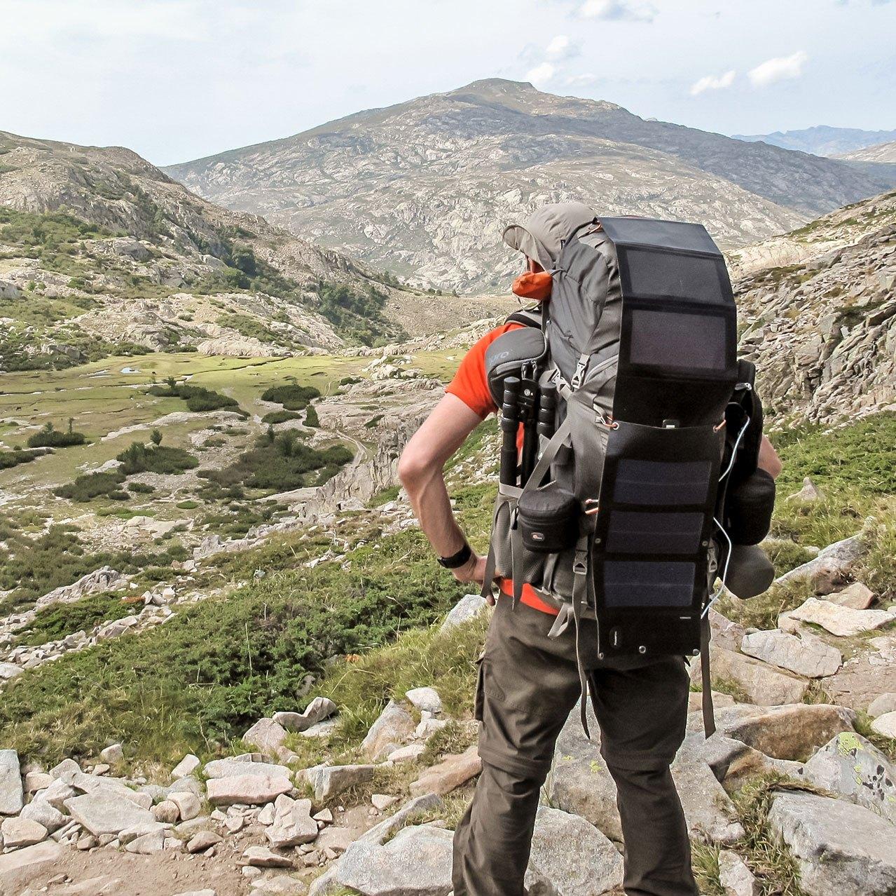 Chargeur solaire usb pour vos randonnées et GR en autonomie