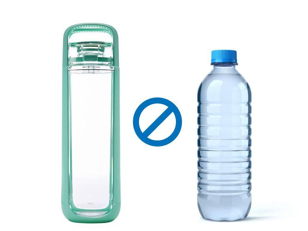 Bouteille réutilisable ou bouteille plastique : à quelle eau se fier ?