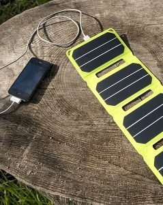 Solar Charger iPhone Pocket Power USB