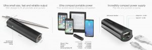 Powerbank externe 2500 mAh Multimedia