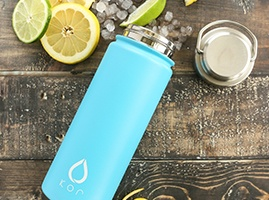 insulated stainless steel flask KOR Water