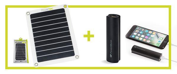 Powerbank offerte pour 1 panneau solaire acheté