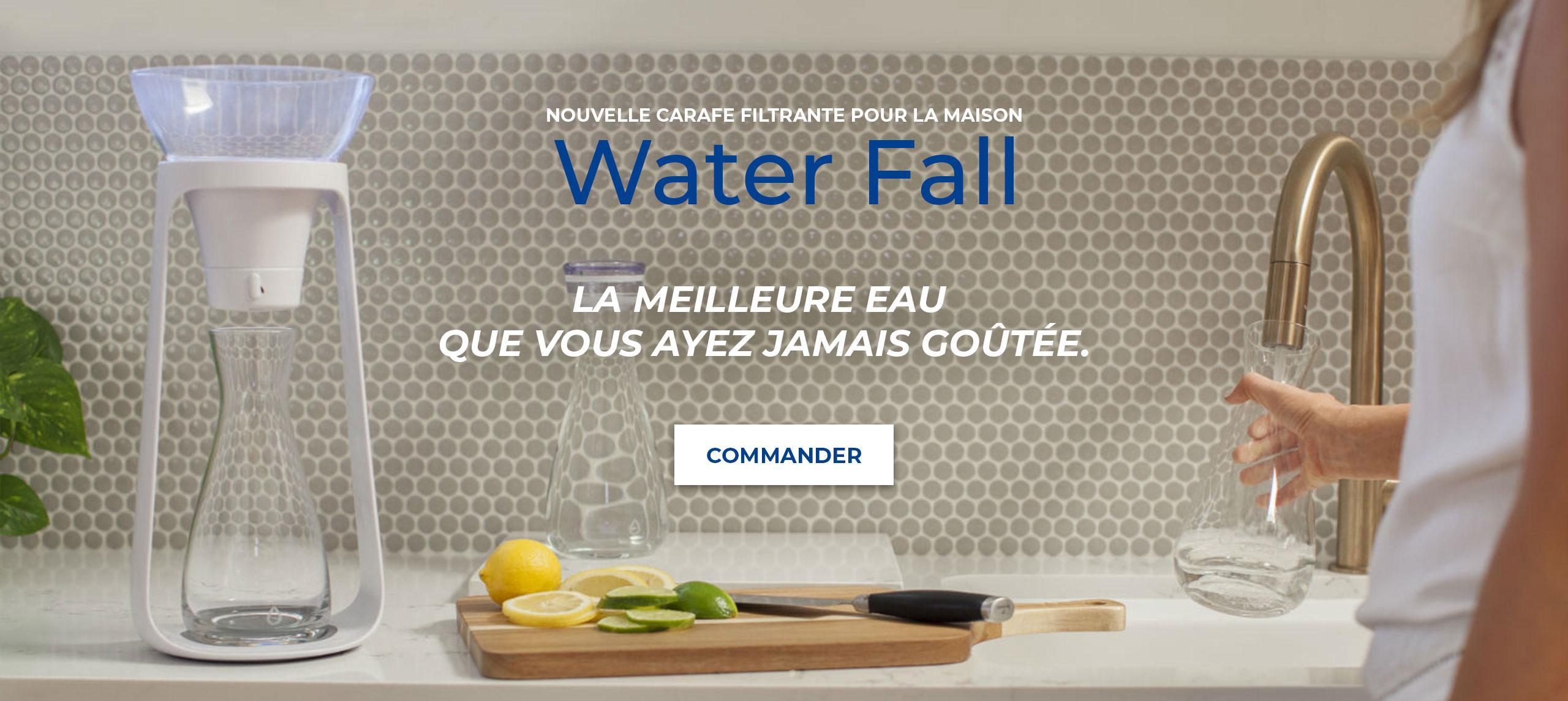 Carafe d'eau filtrante KOR Water Fall